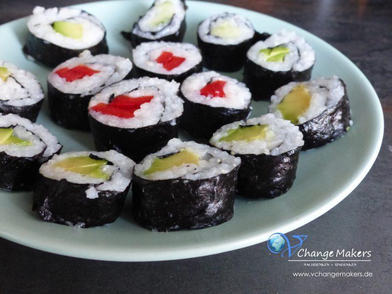 Rezept: Sushi vegan