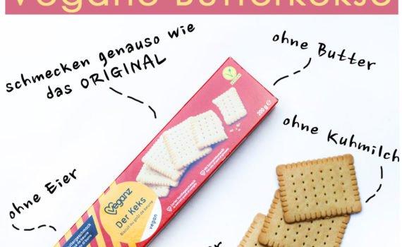 Kindheitserinnerungen werden geweckt - vegane Butterkeke von Veganz für kleines Geld. Für unter 2 €. Schmecken genauso wie die Originalen, nur ohne Tierleid!