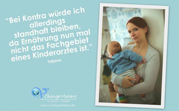 Interview mit Tatjana: Eine vegane Mutter vertritt standhaft ihre Werte