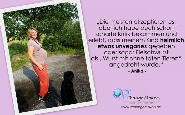 Interview mit Anika: Sie gaben meinem Kind heimlich etwas unveganes