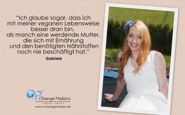 Interview mit Gabi: Vertraut euch selbst und steht zu eurem Veganismus während der Schwangerschaft