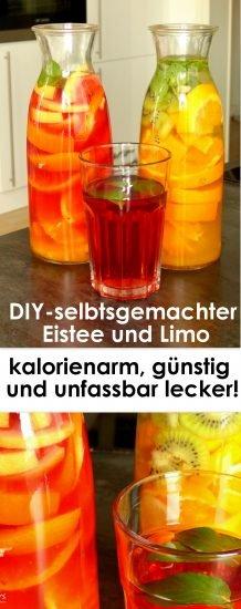 sommergetränk_eistee_limo_kalorienarm_gesund_pinterest