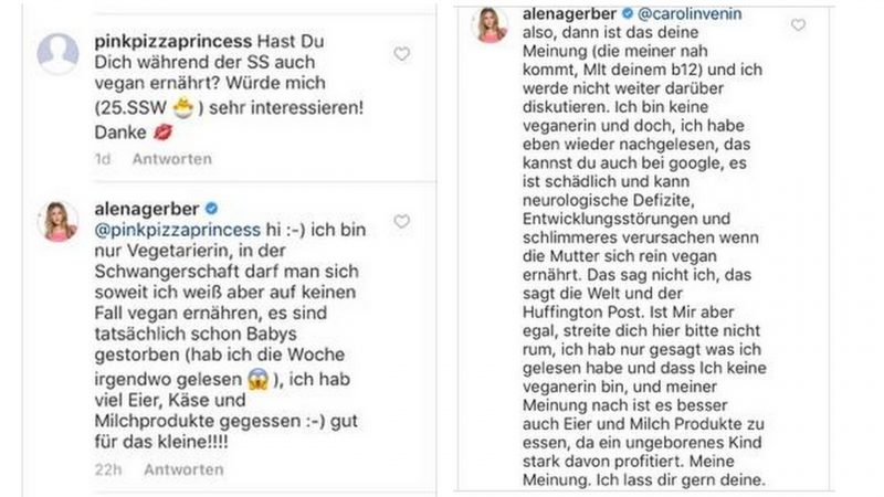 Mein Statement zu Alena Gerbers Instagram Posting