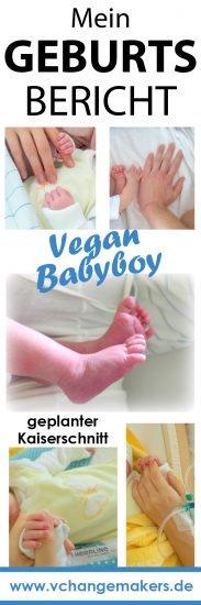 Erfahrt alles über meinen geplanten Kaiserschnitt - die unerwartete Panik, die Kritik und das pure Glück! Das Highlight meiner veganen Schwangerschaft.