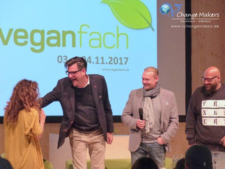Veganfach 2017: Riesen Ansturm, leckere Produkte und tolle Gäste. Wir trafen Moses Pelham, Christian Vagedes und futterten uns von A bis Z durch