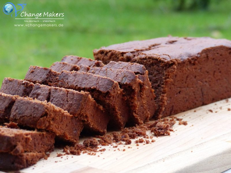 Rezept: Sooo saftiger Schokoladen-Bananen-Kuchen – wenig Zucker