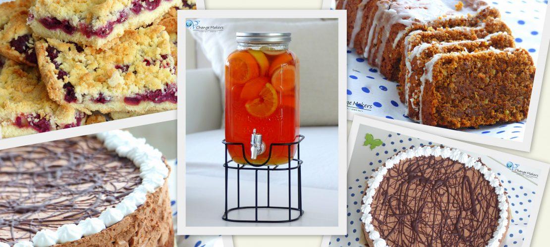 Vegane Rezepte für Ostern. Leicht zuzubereiten und unheimlich lecker. Ganz ohne Tierleid! Saftige Kuchen, grandiose Torte und alles abgerundet mit einem leckeren selbstgemachten Sommergetränk ohne Zuckerzusatz!