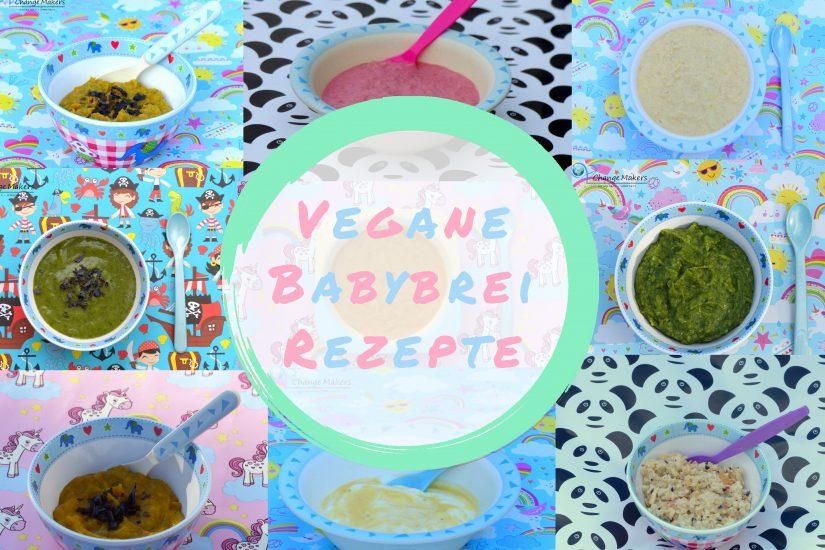 Lass dich von einfachen veganen Babybrei Rezepten inspirieren. Die Rezepte sind vollwertig und nährstoffreich. Die Breie eignen sich super zum Meal Prep.