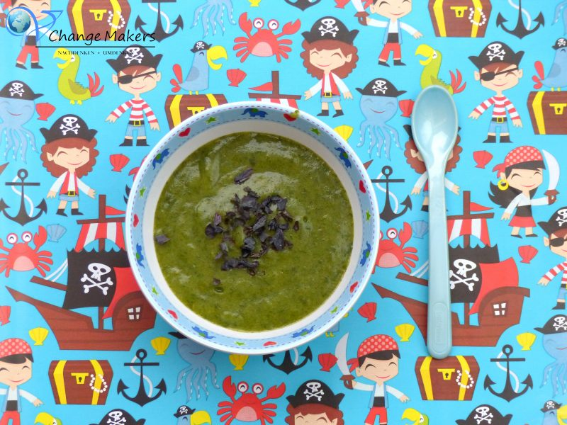 Rezept Babybrei: Süßkartoffel Kartoffel Spinat – vegan -Mittagsbrei