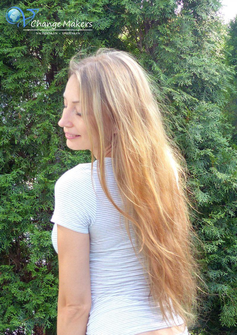 Neu bei dm: Plastikfreie Shampooalternative von Alverde. Festes Shampoo für normales Haar für 4,95 Euro von Alverde bei dm. Ich habe es getestet! Mit Fotos!