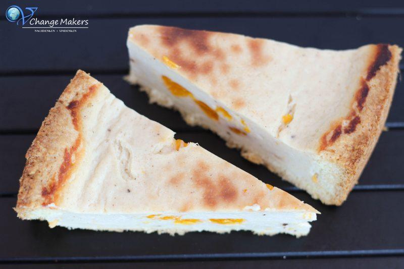 Rezept: Unschlagbarer veganer Käsekuchen – ohne Margarine in der Füllung