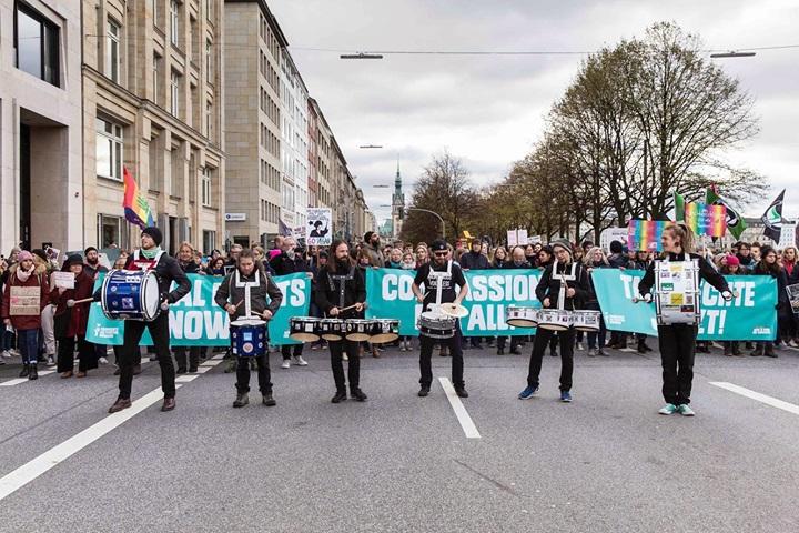 Animal Rights Watch Berlin am 25.08.2019 - Komm auch und lass uns gemeinsam für eine bessere Welt marschieren! Los gehts!