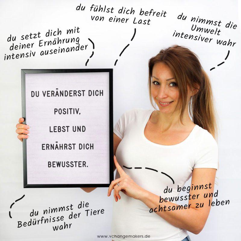 8 Dinge, die sich enorm positiv verbessern, wenn du beginnst vegan zu leben. Das hat Einfluss auf deine Werte, deine Gesundheit, auf das Klima u. v. m.