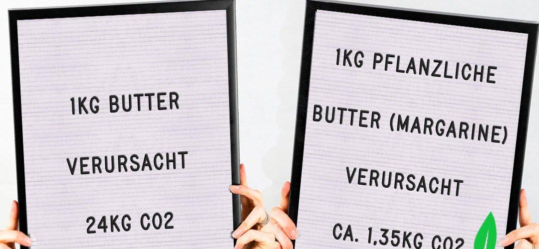 Butter killt unser Klima! Die Haltung und Futterproduktion der Kühe lässt Unmengen an CO2 und Methan entstehen. Doch es gibt eine einfache Lösung