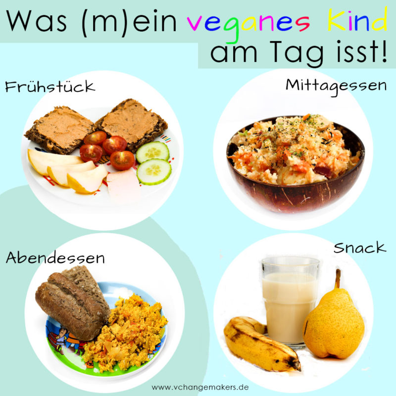 Bunt, nährstoffreich, einfach und gesund -so einfach ist die vegane Kinderernährung! Inspirationen für das Frühstück, Mittagessen und Abendessen sowie Snack