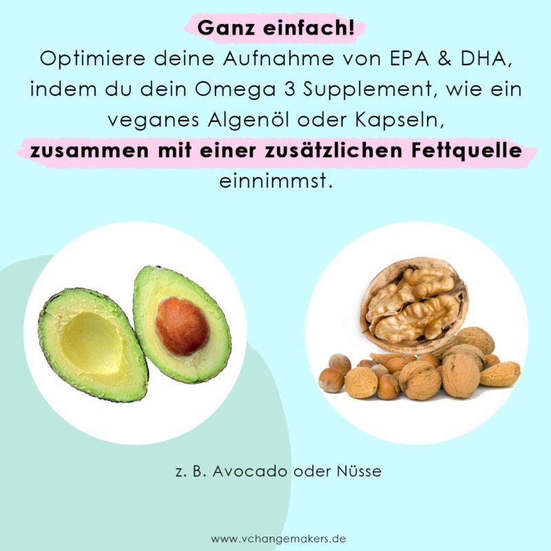 Wie du deine Omega-3-Fettsäuren Aufnahme um mehr als das 10-fache steigern kannst. Es ist einfacher als du denkst.