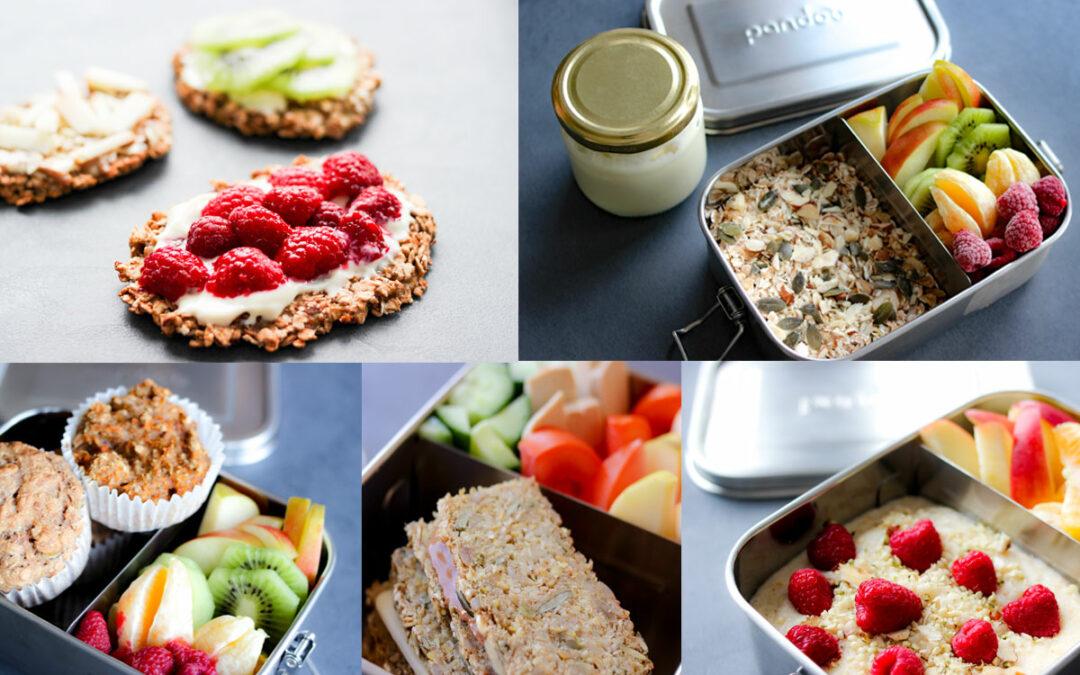 5 Ideen: Vegane Lunchboxen für Kinder in weniger als 10 Minuten pro Rezept!
